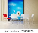 modern interior room with nice... | Shutterstock . vector #70860478