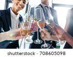 cropped shot of young business...   Shutterstock . vector #708605098
