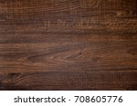 Small photo of Wood texture, Natural dark brown wooden background.