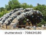 kanlidivane ancient city.... | Shutterstock . vector #708634180