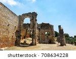 kanlidivane ancient city.... | Shutterstock . vector #708634228