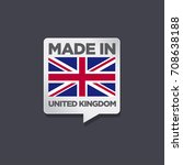 made in united kingdom | Shutterstock .eps vector #708638188