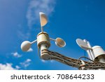Sail Boat Anemometer On The...