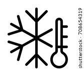 cold | Shutterstock .eps vector #708654319
