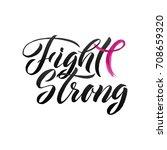 breast cancer awareness... | Shutterstock .eps vector #708659320