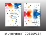 business brochure. vector | Shutterstock .eps vector #708669184