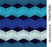 ethnic boho seamless pattern.... | Shutterstock .eps vector #708693880