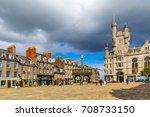 castlegate in the city centre   ...   Shutterstock . vector #708733150