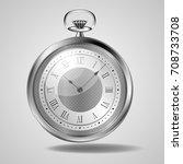 pocket watch | Shutterstock .eps vector #708733708