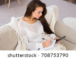 no time for resting. beautiful...   Shutterstock . vector #708753790
