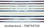 summer sailor stripes seamless... | Shutterstock .eps vector #708754720
