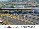 highway and highway landscape | Shutterstock . vector #708771430