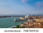 basilica di santa maria della... | Shutterstock . vector #708785920