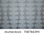 abstract oval relief | Shutterstock . vector #708786394