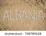 albania   beach  sand  stones | Shutterstock . vector #708789628