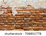 brick wall texture  | Shutterstock . vector #708801778