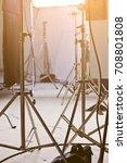 studio lighting equipment | Shutterstock . vector #708801808