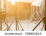 studio lighting equipment | Shutterstock . vector #708801814