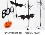 holidays and decoration concept ... | Shutterstock . vector #708807604