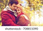 love  relationships  season and ... | Shutterstock . vector #708811090