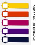 infographic templates for... | Shutterstock . vector #708833803