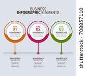 modern timeline infographics  | Shutterstock .eps vector #708857110