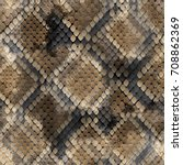 seamless pattern wild design.... | Shutterstock . vector #708862369