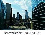 houston skyscrapers  financial...   Shutterstock . vector #708873103