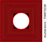 abstract black red square and... | Shutterstock .eps vector #708873238