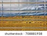 landscape mountain through... | Shutterstock . vector #708881938