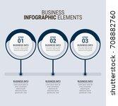 modern infographic timeline... | Shutterstock .eps vector #708882760