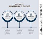 modern infographic timeline... | Shutterstock .eps vector #708882778