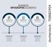 modern infographic timeline... | Shutterstock .eps vector #708882904