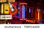 nashville  tennessee   july 7th ... | Shutterstock . vector #708916600