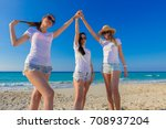 group of friends together... | Shutterstock . vector #708937204