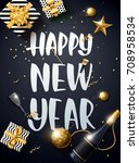 vector illustration of happy... | Shutterstock .eps vector #708958534