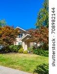 luxury house in vancouver ... | Shutterstock . vector #708982144