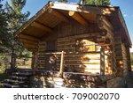 banff national park  alberta ... | Shutterstock . vector #709002070