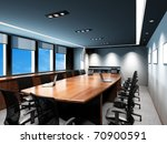 business meeting room in office ... | Shutterstock . vector #70900591