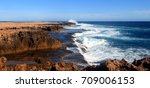 quobba coastline  carnarvon ...   Shutterstock . vector #709006153