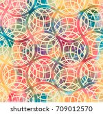 vector seamless pattern.... | Shutterstock .eps vector #709012570