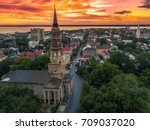 charleston from the air  ... | Shutterstock . vector #709037020