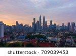 kuala lumpur  malaysia   3... | Shutterstock . vector #709039453