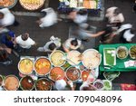 bangkok street food has many... | Shutterstock . vector #709048096