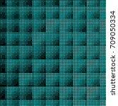 abstract grunge grid polka dot...   Shutterstock .eps vector #709050334