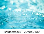 Natural Bokeh Blue Water...