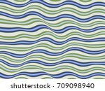 Green And Blue Wavy Lines...
