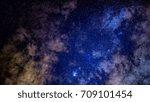 milky way | Shutterstock . vector #709101454