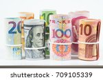 Currencies And Money Exchange...