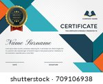 modern premium company... | Shutterstock .eps vector #709106938